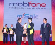 Phần mềm MSale của MobiFone thuộc Top 10 Sao Khuê